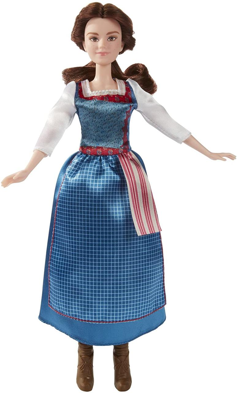 """Кукла Disney Бель """"Красавица и Чудовище"""" в деревенском платье Оригинал (B9164)"""