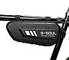 Велосипедна сумка під раму карбон B-SOUL трикутна 27 х 11 х 7 см