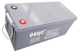 Аккумулятор 200 Ач свинцово-углеродный Kijo JPC 12В герметичный карбоновый