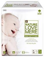 NATURE LOVE MERE - Подгузники детские, серия MAGIC SOFT FIT, размер XL, 20 шт, 12+ кг