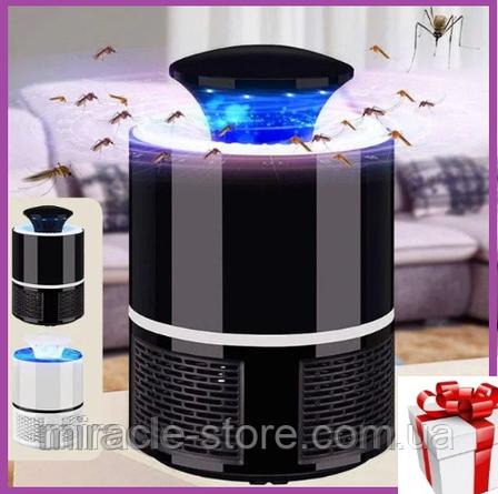 Уничтожитель комаров Mosquito Killer Lamp лампа ловушка комаров, фото 2