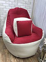 Кресло мешок -модель BOSS , кресло Груша, бескаркасный пуф ,BMW печать Логотип,  бескаркасная мебель, ДОСТАВКА