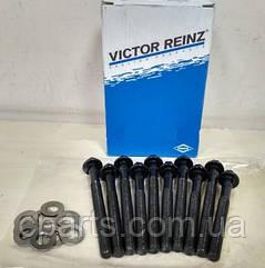 Комплект болтов ГБЦ Renault Symbol New/Thalia 1.4 8V (Victor Reinz 14-32089-01)(высокое качество)