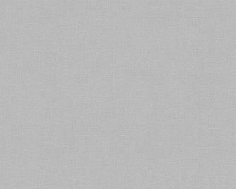Износостойкие однотонные серые обои 324745 на флизелиновой основе