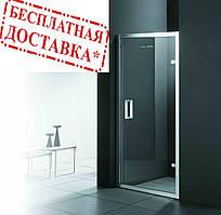 Душевые двери левые FONTE 90х185 M151 OA (ice engraving) AК