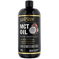 MCT кокосовое масло California Gold Nutrition (США) 946 мл, среднецепочечные триглицериды из кокосового масла