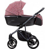 Детская универсальная коляска 2 в 1 Bebetto Bresso Premium Dark 03 2020