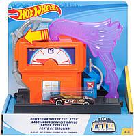 Игровой набор Hot Wheels Заправочная станция Hot Wheels City Downtown Super Fuel Stop Playset