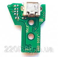 Плата зарядки Micro USB Dualshok 4 JDS-055 12 контактная (Черкассы)