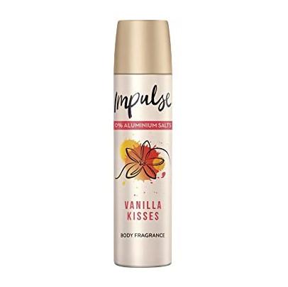 Дезодорант парфумований Impulse Vanilla Kisses 75мл.