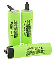 Аккумулятор Panasonic 18650 с контактами Li-ion 4.2v NCR18650B 3400mah MH12210 без защиты (оригинал)