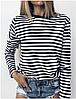 Женская кофта тельняшка морячка