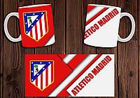 "Чашка ""ФК Атлетико Мадрид"" / Кружка ""Atletico Madrid"" №2"