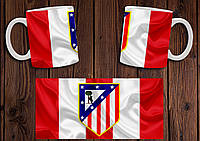 "Чашка ""ФК Атлетико Мадрид"" / Кружка ""Atletico Madrid"" №4"