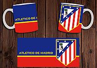 "Чашка ""ФК Атлетико Мадрид"" / Кружка ""Atletico Madrid"" №5"