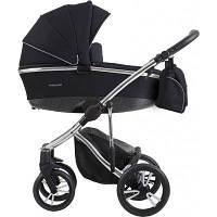 Детская универсальная коляска 2 в 1 Bebetto Bresso Premium Silver 01 2020