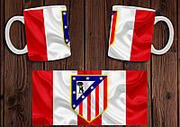 "Чашка ""ФК Атлетико Мадрид"" / Кружка ""Atletico Madrid"" №8"