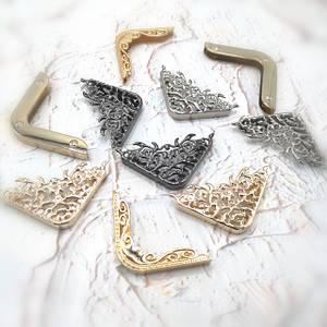 Уголки декоративные металлические для сумок
