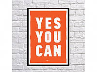 Постер Yes You Can