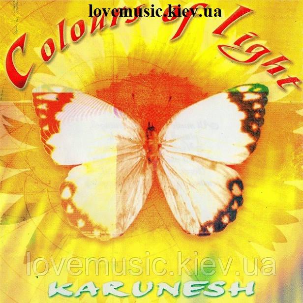 Музичний сд диск KARUNESH Colours of light (1987) (audio cd)