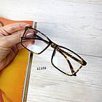 Имиджевые очки в стильной оправе (антиблик), фото 7