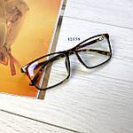 Имиджевые очки в стильной оправе (антиблик), фото 9