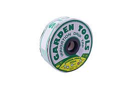Стрічка крапельного поливу Garden Tools - 0,15 x 300 мм х 300 м