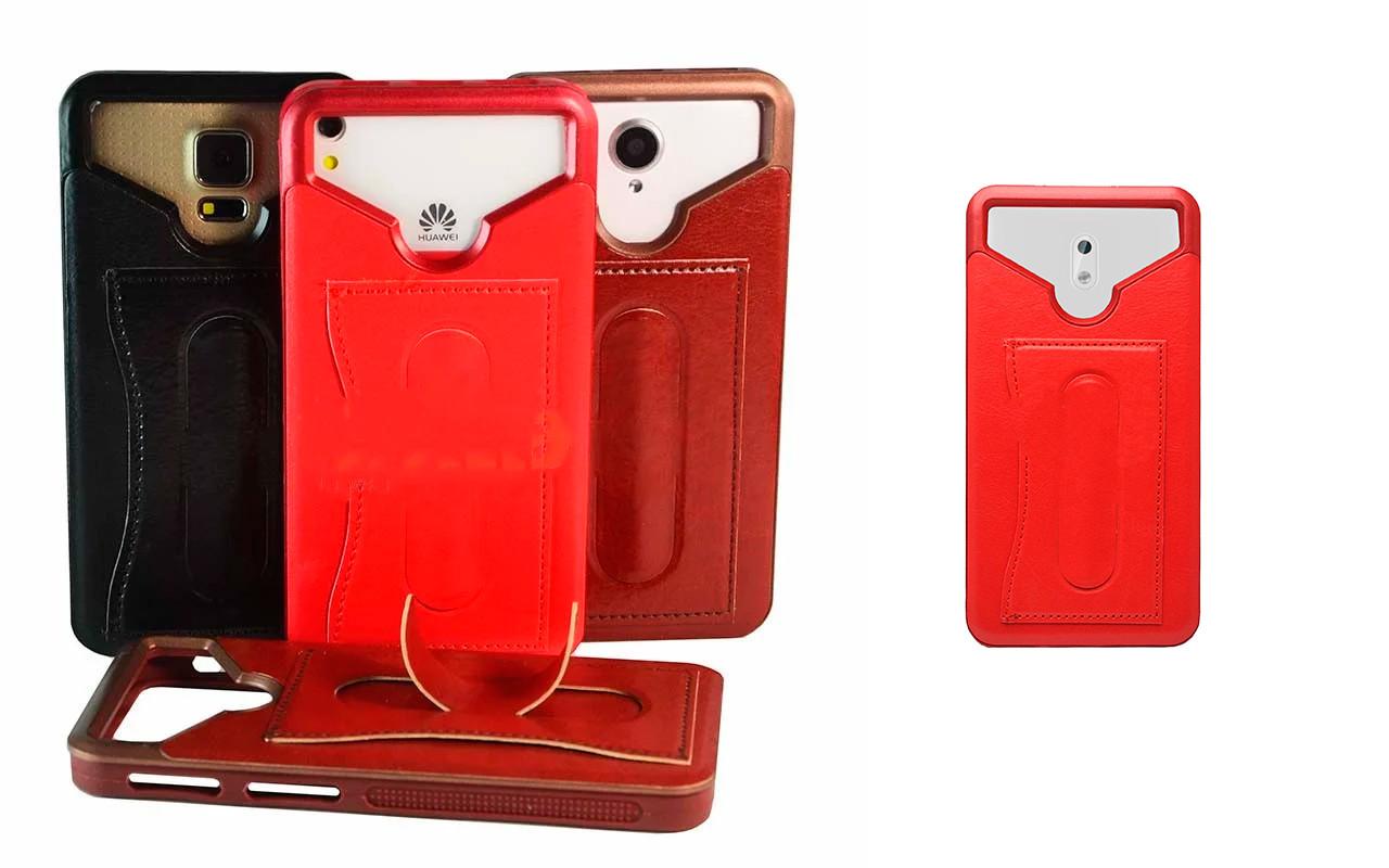 Бампер для смартфона Nokia 3 с отделением для пластиковой карты