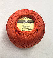 Пряжа Lily 50гр - 225м (5535 Терракотовый) YarnArt
