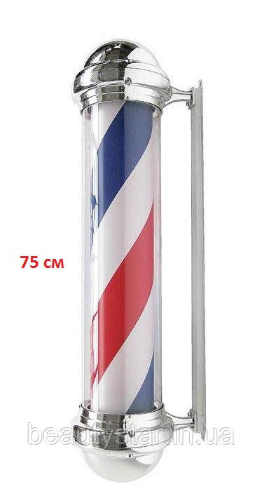 Знак-символ барбер Барбер пол (75 см)