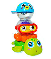 Набор игрушек для в ванны. Игрушки для купания и игры с водой( 3112)