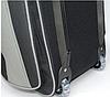 Сумка дорожная на колёсах KAIMAN 60 см черная с серым, фото 5