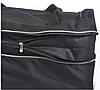 Сумка дорожная на колёсах KAIMAN 60 см черная с серым, фото 6