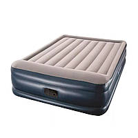 Двухспальная надувная кровать Bestway 67630, 203-152-46см, встроенный электронасос