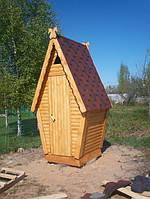 """Туалет """"Теремок"""" 1.3х1.5 м, комплект без сборки"""