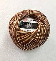 Пряжа Lily MELANGE 50гр - 225м (0017) YarnArt