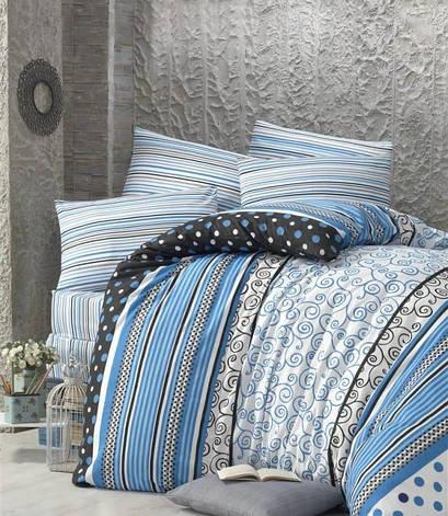 Комплект постельного белья Elena Евро ранфорс арт.Point, фото 2