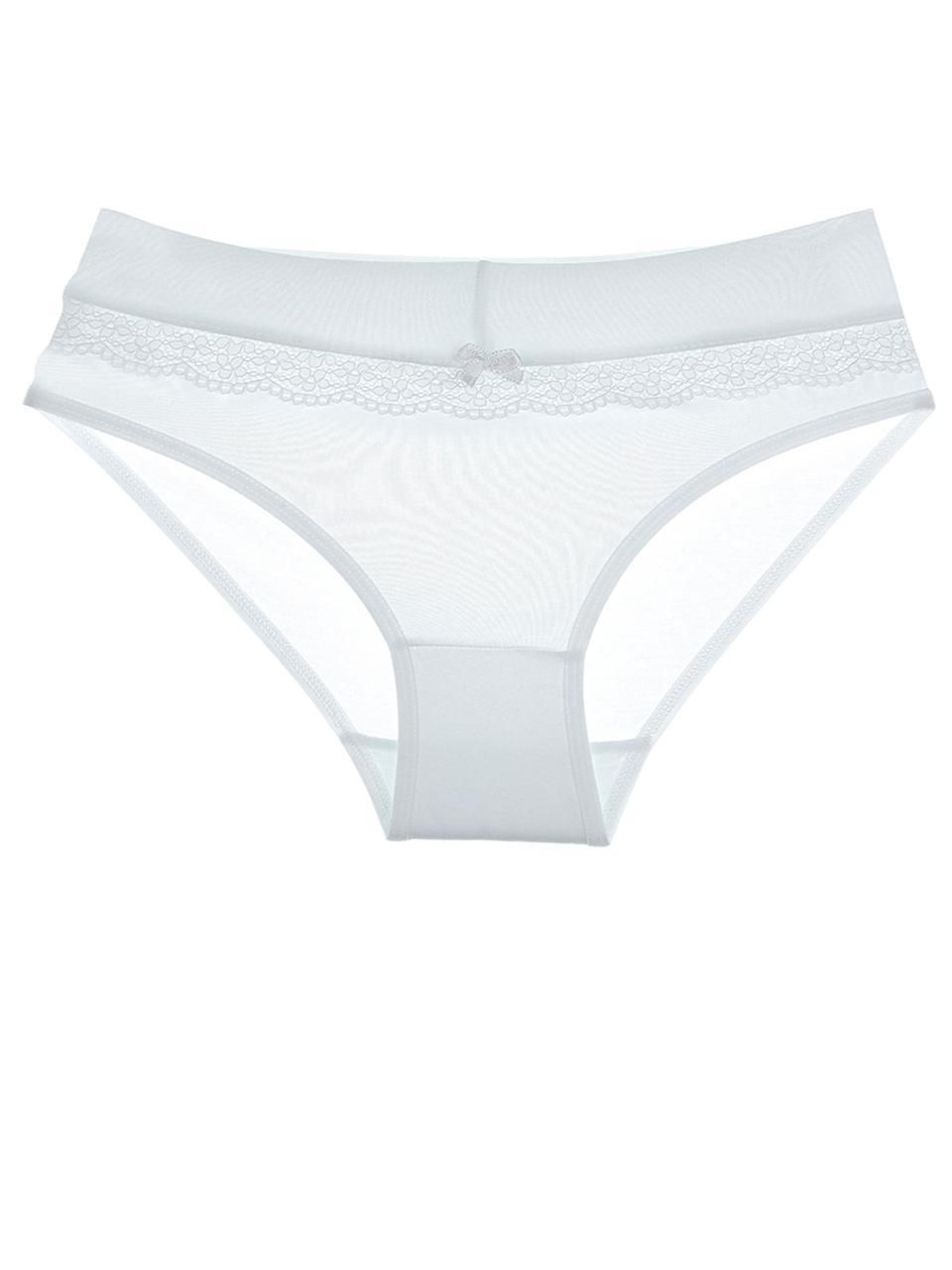 Белые трусы для девочки по ширине кружевная полоска 92-98 (2-3 года) Donella Турция