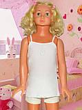 Белые трусы для девочки по центру кружевная полоска 92-98 (2-3 года) Donella Турция, фото 2