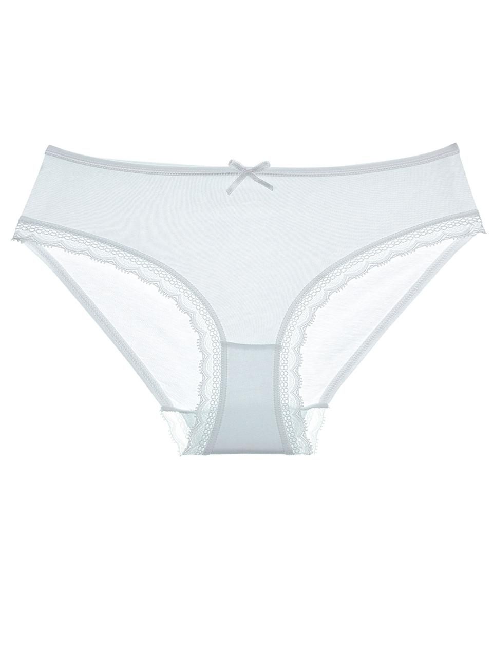Белые трусы для девочки по резинке кружево 104-110 (4-5 лет) Donella Турция