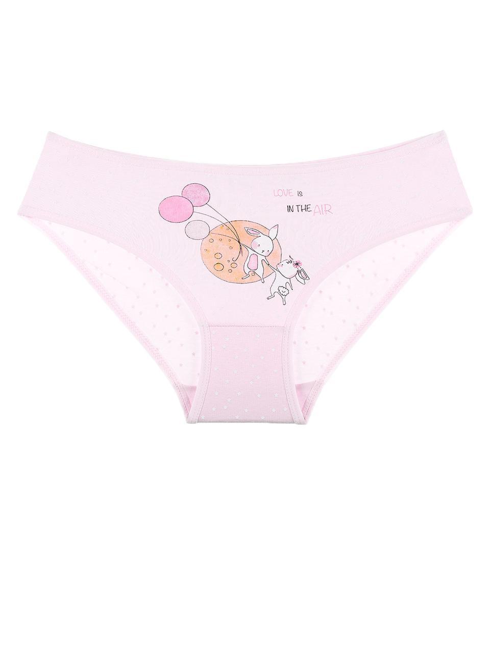 Трусы для девочки Зайчики Розовый 92-98 (2-3 года) Donella Турция