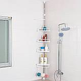 Угловая полка для ванной Multi Corner Shelf GY-188, фото 7
