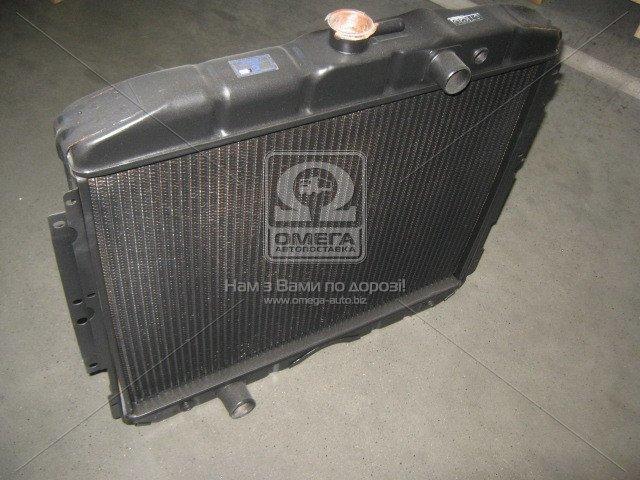 Радиатор водяного охлаждения ГАЗ 3307 (3-х рядный) г. (пр-во Бишкек) (арт. 142.1301010-03)