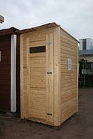 Туалет прямой 1х1.2 м, комплект без сборки
