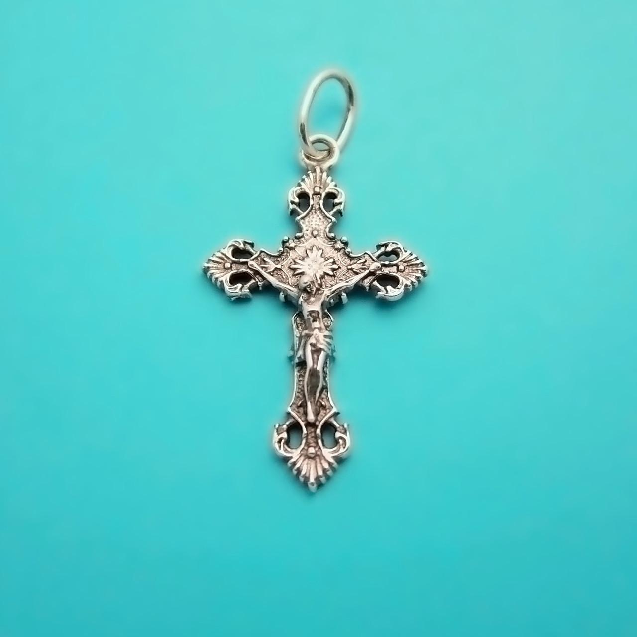 смотреть серебряные католические крестики фото березы