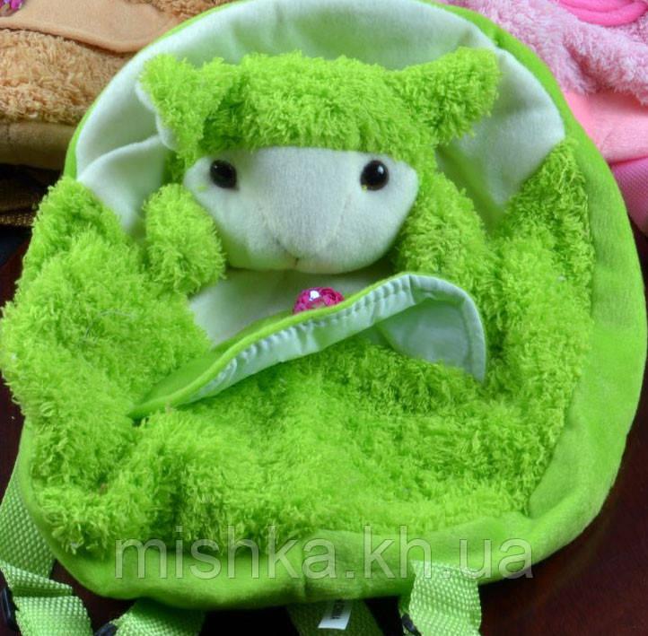 М'яка іграшка-Рюкзак овечка