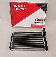 Радиатор печки (отопителя) ВАЗ 2108, 2109, 21099 Группа ОАТ аллюминиевый АвтоВАЗ (ОАТ, ДААЗ)