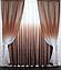 Двухсторонние шторы красивый комплект интернет магазин, фото 5