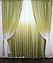 Двухсторонние шторы красивый комплект интернет магазин, фото 9