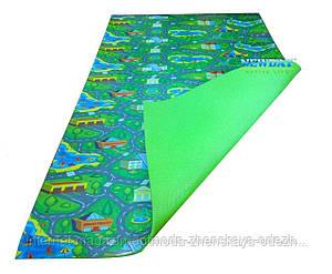 Детский коврик 1500×1100×8мм, «Городок», теплоизоляционный, развивающий, игровой коврик